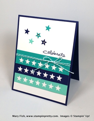 Stampin up stampinup mary fish stamping pretty endless birthday wishes