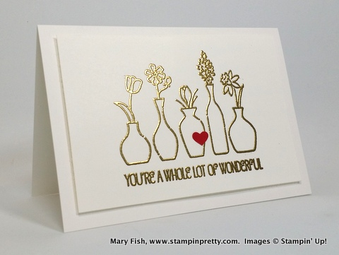 Stampin up stampinup stamping pretty mary fish vivid vases 1