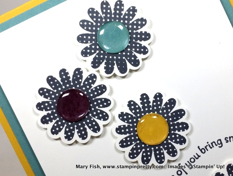Stampin up stampinup stamping pretty mary fish polka dot pieces 5
