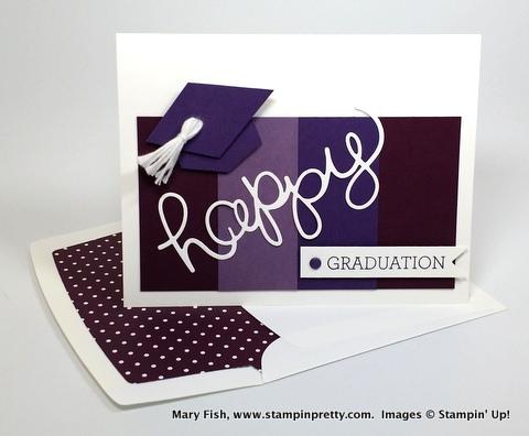 my happy graduation card plus last 2 days free shipping stampin