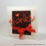 Stampin' Up! Hello You Thanks Card