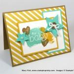 B.Y.O.P. Baby Card & Gift Card Idea