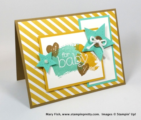 stampin up stampinup mary fish stamping pretty BYOP 1