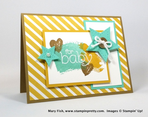 stampin up stampinup mary fish stamping pretty BYOP