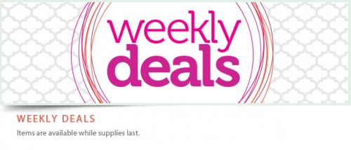stampin up up weekly deals specials stampinup