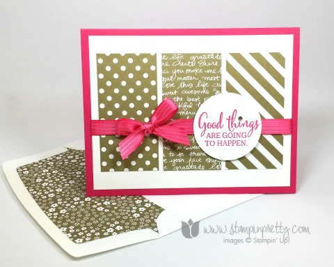 stampin up stampinup you've got this mary fish pretty