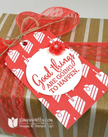 stampin up stampinup pretty stamping you've got this gift idea mary fish