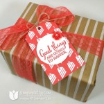 Simple Stampin' Up! Gift Tag