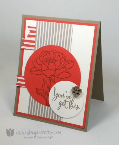 stampin up stampinup stamping stampinup mary fish pretty you've got this