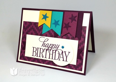 happy birthday everyone stampin up stampinup stamping mary fish pretty
