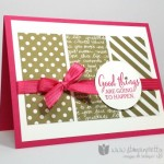 Oh La La!  Neutrals Color Collection Designer Series Paper