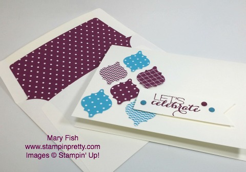 stampinup stampin up stamping pretty mary fish mosaic punch 2