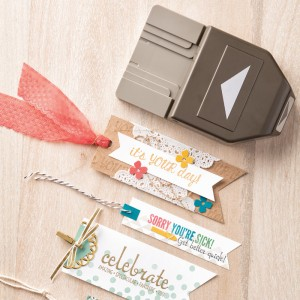 Banner Triple Punch Stampin' Up! Catalog Favorites by Mary Fish, Stampin' Pretty Blog