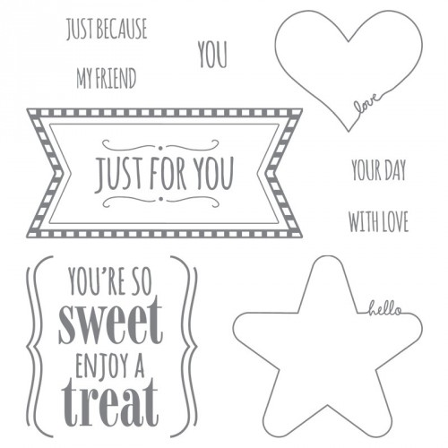 Youre So Sweet Stampinup Stamp Set
