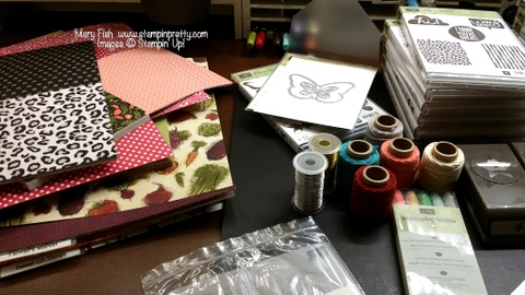stampin up catalog video reveal by stampinup demonstrator mary fish blog