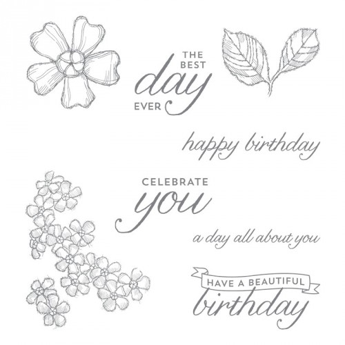 Birthday Blossoms Images by Stampin Up StampinUp Stamping StampingUp Mary Fish Stampin Pretty