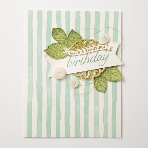 Birthday Blossoms Stampin Up StampinUp Stamping StampingUp Mary Fish Stampin Pretty