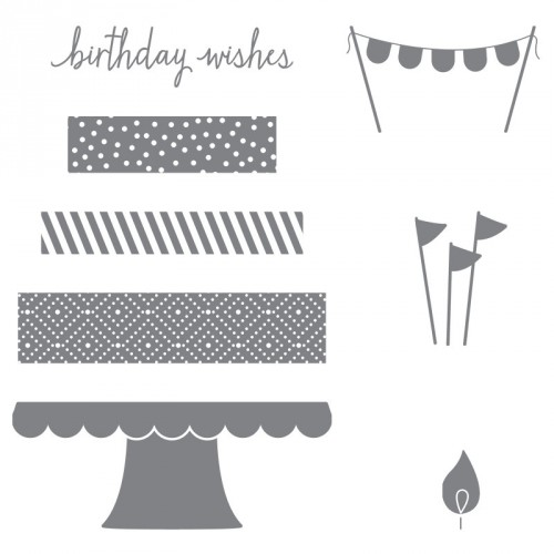 Build a Birthday by Stampin Up StampinUp Stamping StampingUp Mary Fish Stampin Pretty