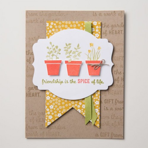 Gift from the Garden Stampin Up StampinUp Stamping StampingUp Mary Fish Stampin Pretty