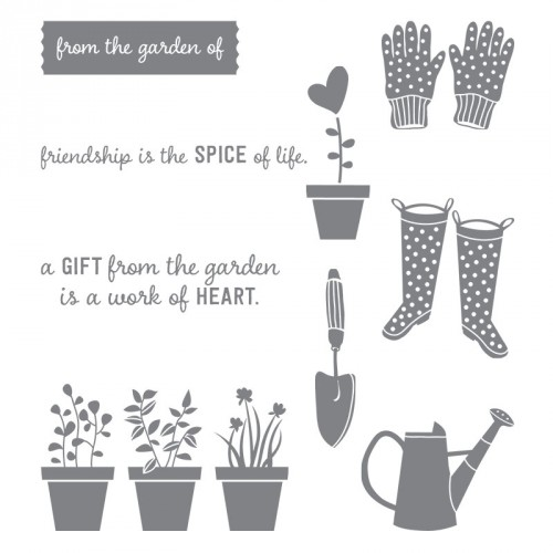 Gift from the Garden by Stampin Up StampinUp Stamping StampingUp Mary Fish Stampin Pretty