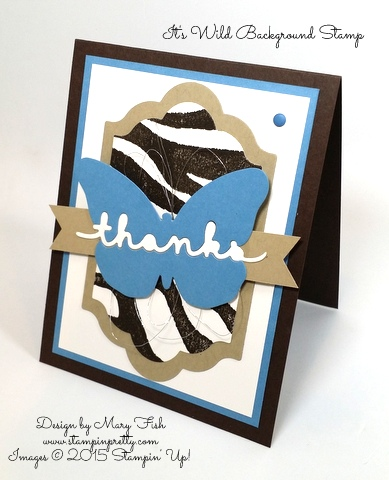 Stampin' Up! Greetings Thinlits Dies It's Wild Mary Fish Stamping Pretty Blog Pinterest