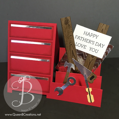 Lisa's Tool Time Father's Day Card | Stampin' Pretty