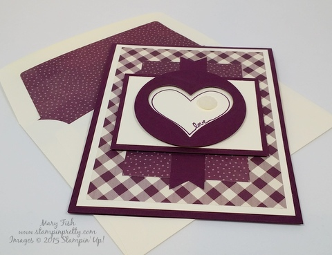 stampin up youre so sweet friend card idea mary fish stampinup blog flat