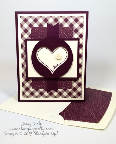 stampin up video tutorial card idea mary fish stampinup blog envelope