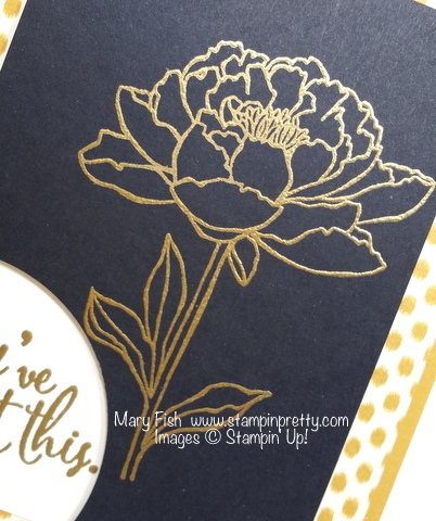 Stampin' Up! You've Got This stamp set sympathy card by Mary Fish Stampin' Pretty Stamping