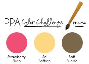 Pals Paper Arts Color Challenge Banner