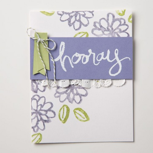 watercolor words Stampin Up StampinUp Stamping StampingUp Mary Fish Stampin Pretty