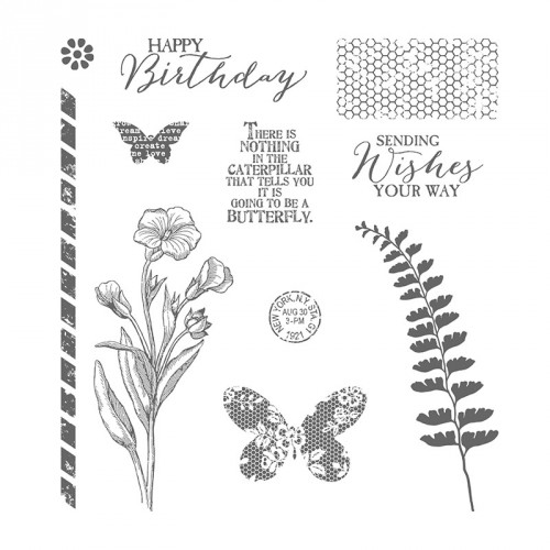 Stampin Up Butterfly Basics StampinUp Stamp Set