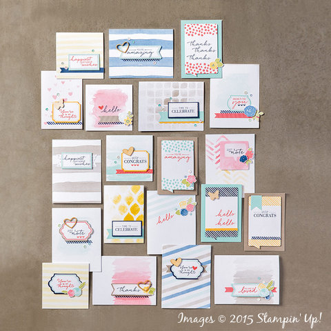Stampin' Up! Watercolor Wishes Card Kit Now Available!