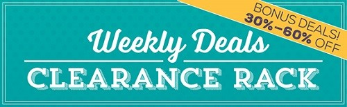 Save on Stampin' Up! clearance rack sale & Stampinup weekly deals & discounts on stamping