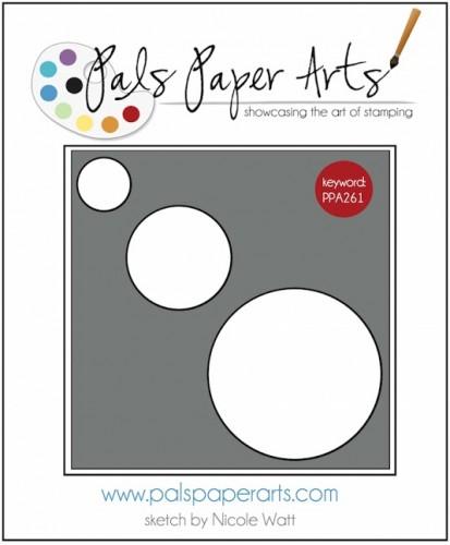 Pals Paper Arts Sketch Challenge PPA261