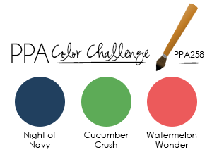 Pals Paper Arts Sketch Challenge PPA258 StampinUp
