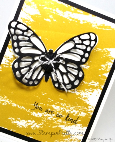 bold butterfly butterflies framelits dies stampin up demonstrator blog mary fish stampin pretty  watercolor wash