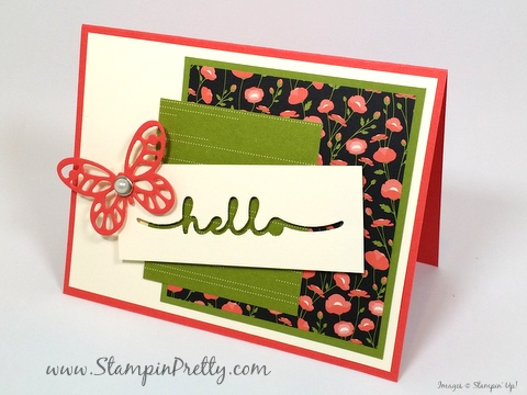 stampin up bold butterfly framelits dies butterflies mary fish stampin pretty petal