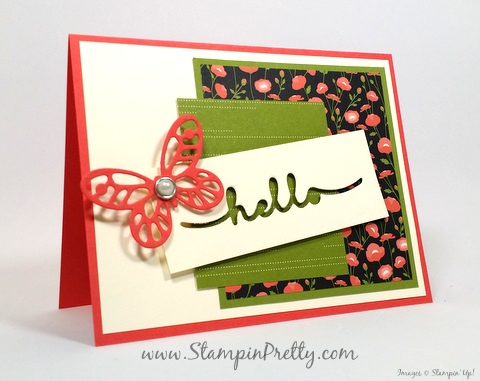 stampin up bold butterfly framelits dies butterflies mary fish stampin pretty petals