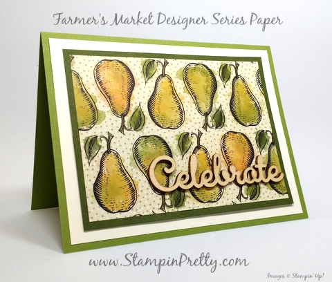 stampin up farmers market expressions natural elements mary fish stampin pretty demonstrator blog pinterest