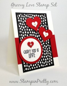 stampin up groovy love wedding card idea mary fish stampin pretty
