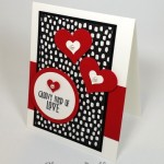 Stampin' Up! Groovy Love Wedding Card