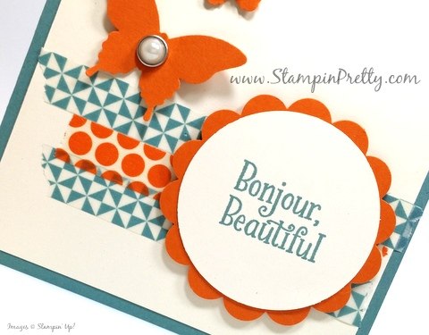 stampin up happy happenings mary fish stampin pretty demonstrator blog washi tape