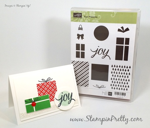 stampin up holiday christmas card ideas your presents mary fish stampin pretty demonstrator blog