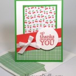 Stampin' Up! Me = Grateful Thank You Card