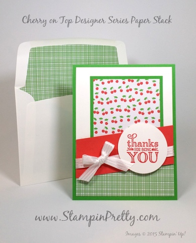 stampin up me = grateful mary fish stampin pretty demonstrator blog envelope