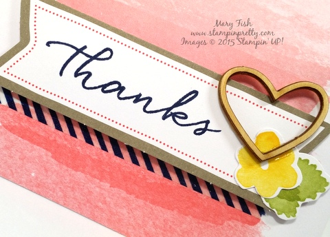Stampin' Up! Watercolor Wishes Card Kit Mary Fish Stampin' Pretty demonstrator blog