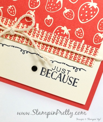 stampin up tin of cards mary fish stampin pretty blog