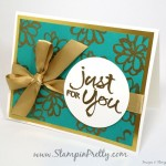 Stampin' Up! Watercolor Words Just for You