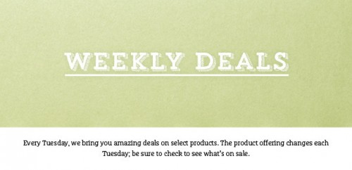 stampin up weekly deals discounts